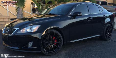 lexus is 250 custom wheels lexus is250 niche essen m147 wheels matte black