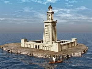 World History Lighthouse Of Alexandria The 7th Wonder Of