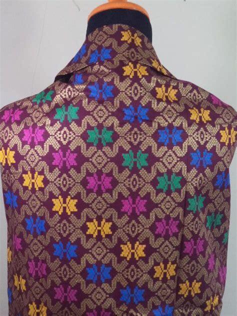 kain batik motif bali warna warni batik cap tradisional