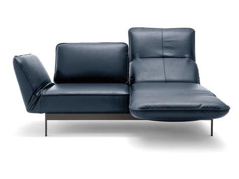 rolf sofa leder divano in pelle con chaise longue mera divano con chaise longue rolf