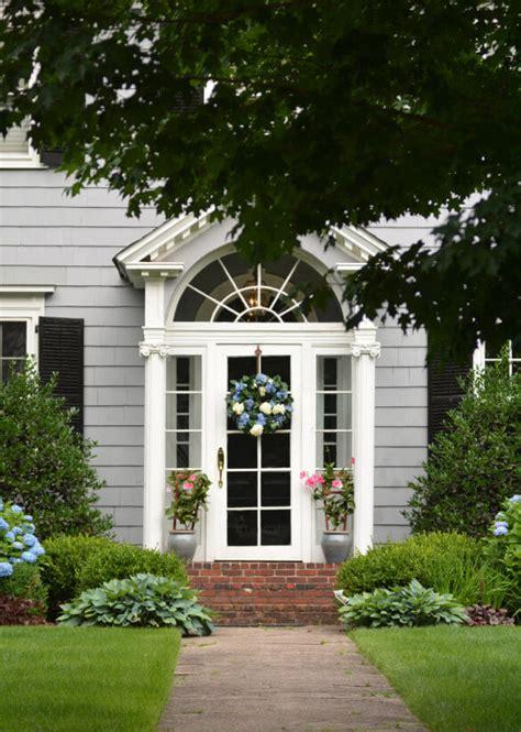 front door flower  plant ideas