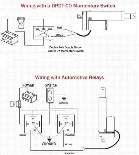 Wire Actuator Wiring Diagram For Two by Switch Wiring For Linear Actuator Electric Camber Tilt