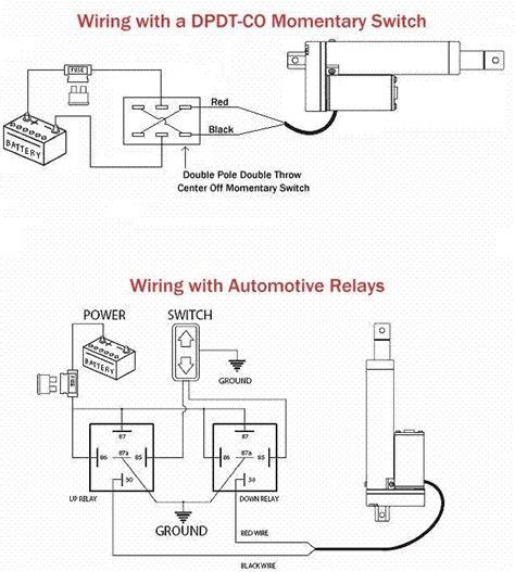 Firgelli Linear Actuator Wiring Diagram