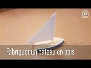 Bricolage Bois Facile : tuto diy comment fabriquer un bateau en bois bricolage facile youtube ~ Melissatoandfro.com Idées de Décoration