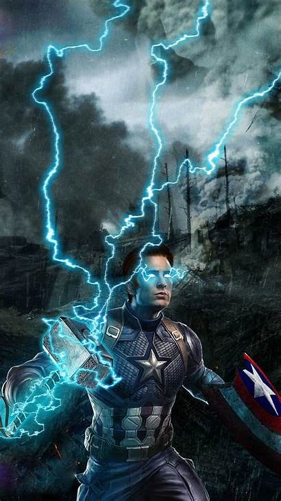Hammer Thor Captain Iphone Wallpapers Iphones Movies