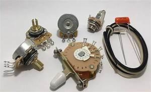 Get Deluxe Wiring Kit For Fender Strat
