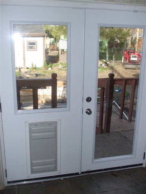 breathtaking doggie doors  french doors design
