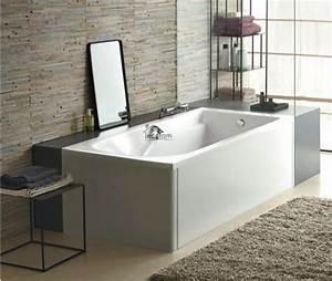 Kunststoff Badewanne Reinigen : badewanne rechteck wanne 150 x 75 cm sch rze kopfst tze sitz acryl ablauf kolo c ebay ~ Buech-reservation.com Haus und Dekorationen