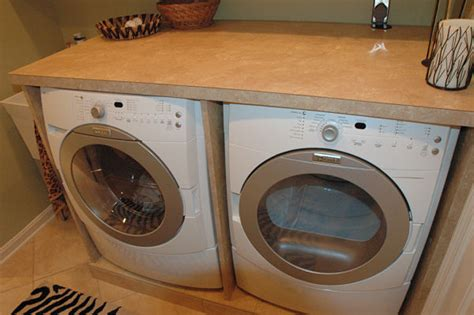 washer and dryer countertop 4 valuable tips to keep your laundry room organized