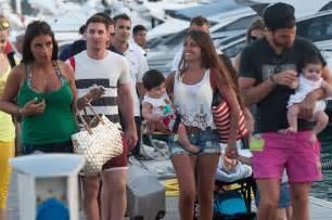 Lionel Messi Girlfriend and Son