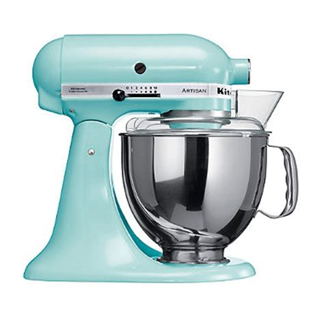 Ice Blue Kitchenaid® Artisan® Stand Mixer In Mixers At