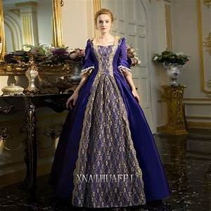 Medieval Renaissance Purple Queen Princess Dresses Marie ...