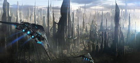 visit  science fictional skyscrapers   epic