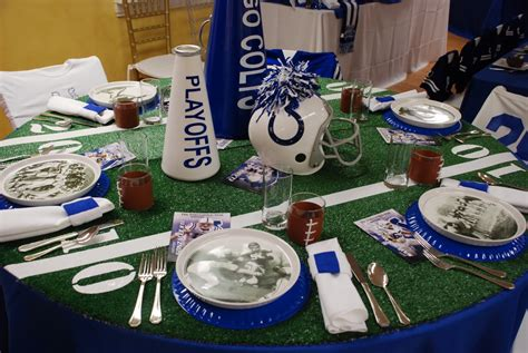 Football Decorations - setting the mood bowl