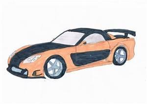 Dessin Fast And Furious : mazda mx 7 fast and furious 3 bryan le dessinateur de la 5a ~ Maxctalentgroup.com Avis de Voitures