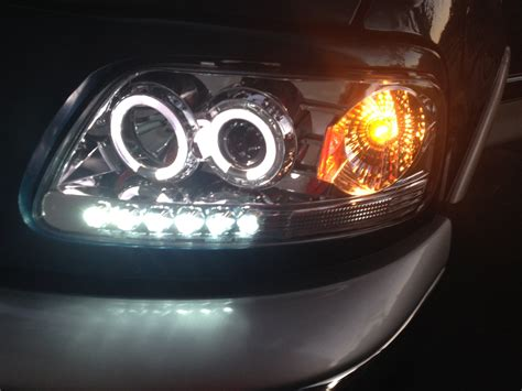 2000 ford f 150 led halogen headlight upgrade doovi