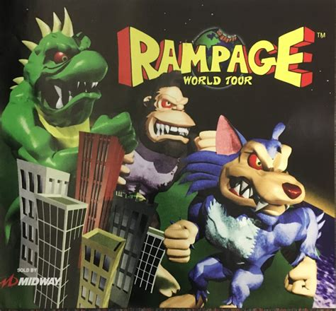 Rampage World Tour Side Art Decals Escape Pod Online