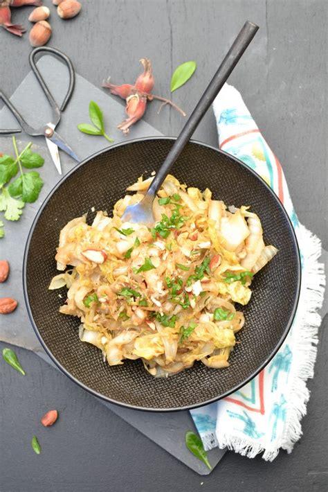comment cuisiner le gingembre wok de chou chinois sauté aux noisettes et sésame 1 2 3 veggie
