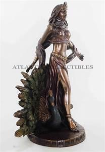Hera Statue Figurine Greek Rome Goddess Juno Women Home ...