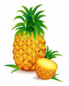 Clip Pineapple Vector Art Free