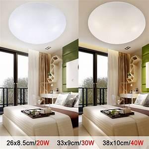 Led, Ceiling, Lights, Dia, 260mm, Acrylic, Warm, White, Cool, White, 20w, 30w, 40w, Modern, Led, Lamp, Living