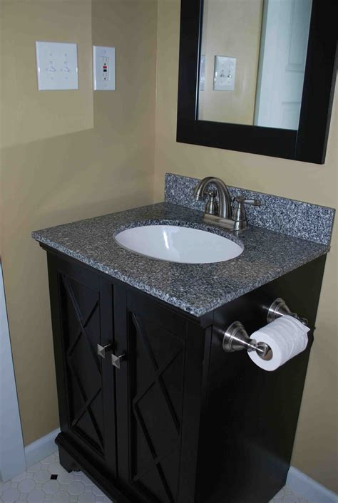 Black Bathroom Vanity Achieving the Finest Classy Accent