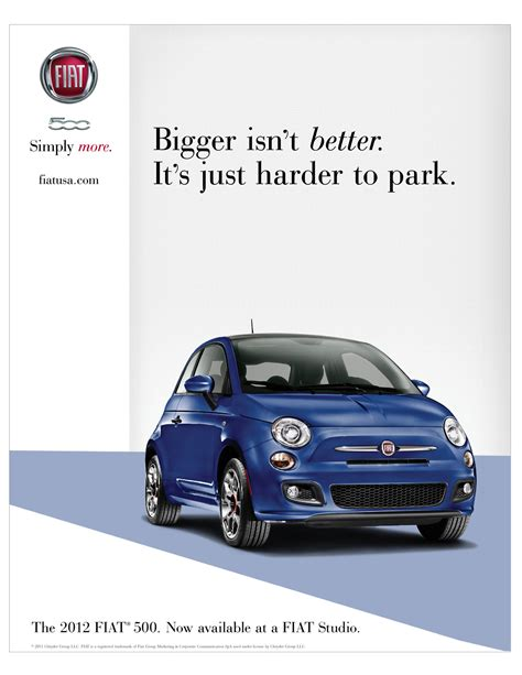 Fiat 500 Ad by Fiat 500 Marketing Collateral Photo Gallery Autoblog