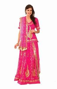 Ranas Pink Georgette Aari Tari Resham Salma Gota Patti ...
