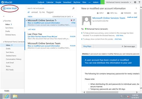 Office 365 Mail Headers by 301 Moved Permanently