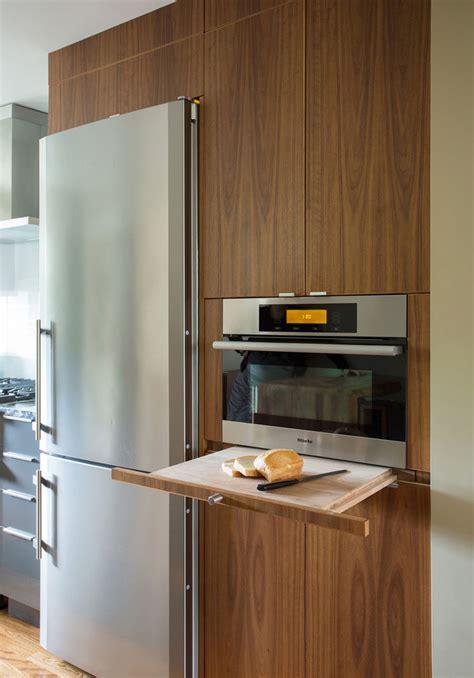 Kitchen Design Idea  Pullout Counters  Contemporist