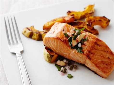 cooking salmon oven baked salmon recipe food network