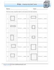 3rd Grade Area Math Worksheets