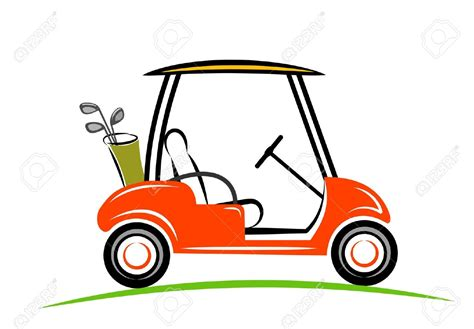 Golf Cart Clip Golf Clipart Golf Cart Pencil And In Color Golf
