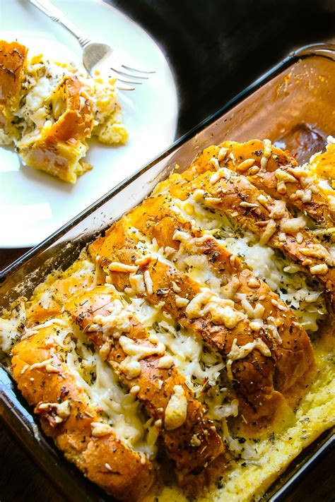 buttery crab bread pudding layers  happiness