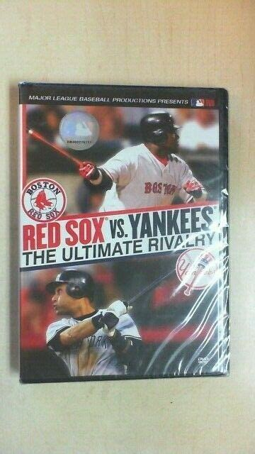 Red Sox Vs. Yankees: The Ultimate Rivalry (DVD, 2006) MLB ...