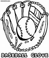 Baseball Glove Coloring Pages Ball Drawing Colorings Getdrawings Coloringway sketch template