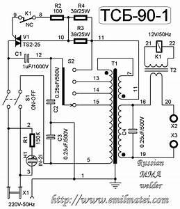 Arc Welding Transformer Circuit Diagram