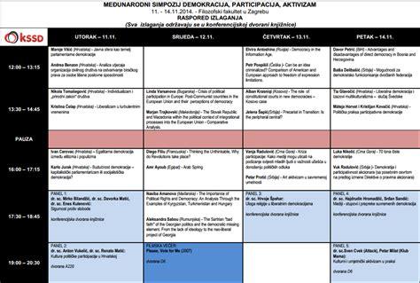 """Međunarodni simpozij """"Demokracija, participacija, aktivizam"""