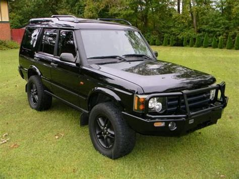 Purchase Used Java Black 2003 Land Rover Discovery Series