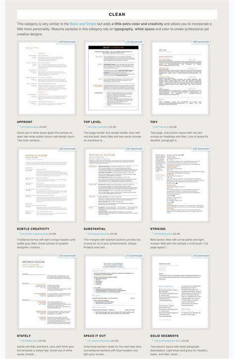 Free Cv Templates To Use by 275 Free Resume Templates You Can Use Right Now Work