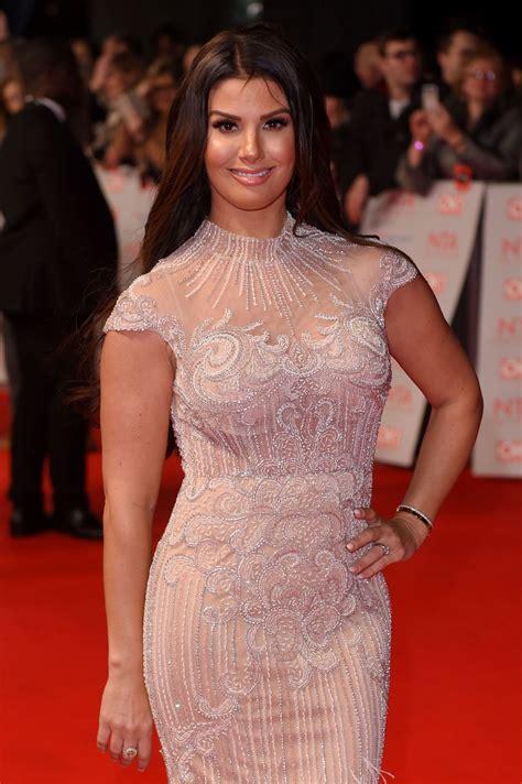 rebekah vardy  national television awards  london