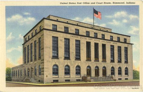 United States Post Office And Court House Hammond, In