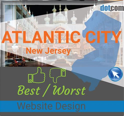 web design nj atlantic city nj website design the top best and worst