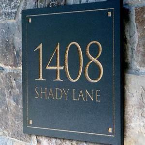 Address, Plaques, For, Homes, U2013, Homesfeed