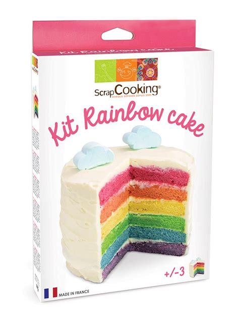 acheter bar cuisine kit rainbow cake scrapcooking cuisineaddict com achat