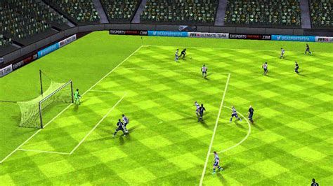 FIFA 14 Android - West Brom VS Manchester Utd - YouTube