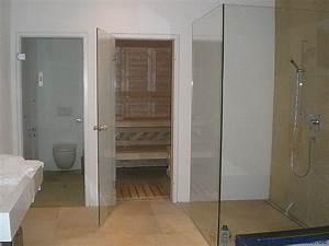 Badezimmer sauna sauna im eigenen bad schreiner straub for Sauna fürs badezimmer