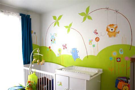 chambre bebe bebe9 idee chambre bebe jungle visuel 9