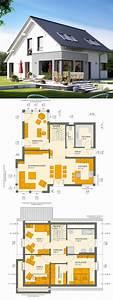 Haus Bauen Ideen Grundriss : einfamilienhaus neubau klassisch mit satteldach ~ Orissabook.com Haus und Dekorationen