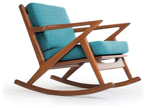 kennedy rocking chair lucky turquoise modern rocking chairs by thrive home furnishings